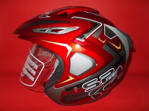 Force F02 SpeedR Red 2 Visor