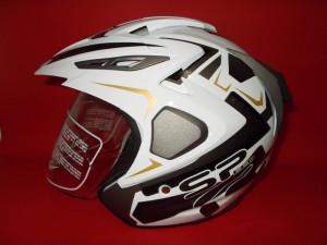 Force F02 SpeedR White 2 Visor